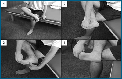 Stretch for plantar fasciitis
